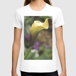 Yellow Calla Lily T-shirt