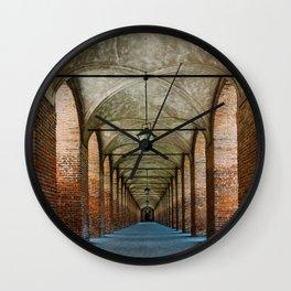Sabbioneta, colonnade, Italy Wall Clock