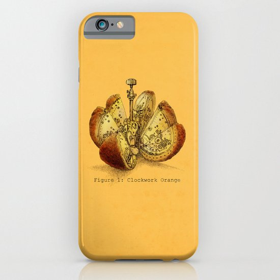 Steampunk Orange  (color option) iPhone & iPod Case