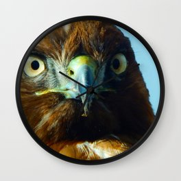 Hunter's Stare Down Wall Clock