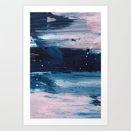 Blush Chic 1 Art Print