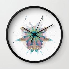 Inkdala XI (Rorschach) Wall Clock