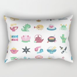 CUTE JAPANESE PATTERN Rectangular Pillow