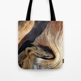 Whorl Juniper Tree Trunk Tote Bag