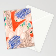 Seeing Spaces - Peach Stationery Cards