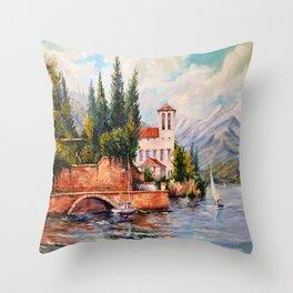 Gulf Throw Pillow