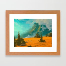 Mountain Trip Framed Art Print