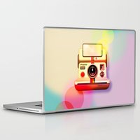 polaroid Laptop & iPad Skins featuring Polaroid by Tony Vazquez