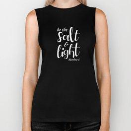 Be The Salt & Light Biker Tank