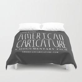 American Caricature Logo Duvet Cover
