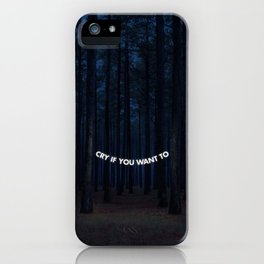 It's your party. iPhone Case