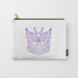 Decepticon Tech Purple Carry-All Pouch