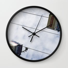 Emirates Cable Car London Wall Clock