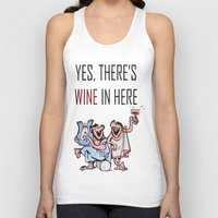 wine Tank Tops featuring Wine by Artysmedia