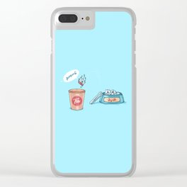 Kamikaze ( Concept Funny illustrations) Clear iPhone Case