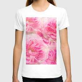 Roses In Pink Tones #decor #society6 #buyart T-shirt