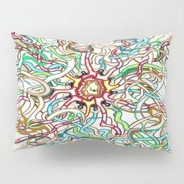 Polychromic Evolution Pillow Sham