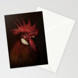 Leghorn Rooster Stationery Cards