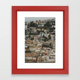 Andalucía Framed Art Print
