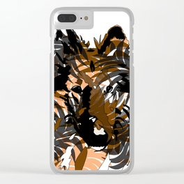Emmy in Tropical Clear iPhone Case