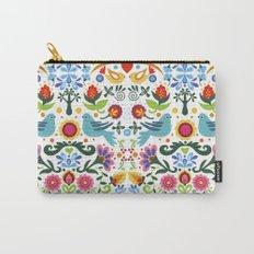 flower folk art Carry-All Pouch