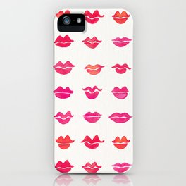 Kiss Collection – Pink Palette iPhone Case