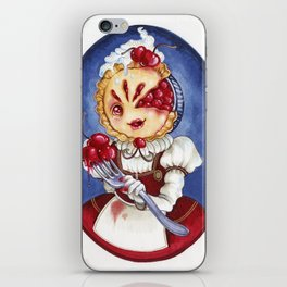 Miss Cherry Pie iPhone Skin