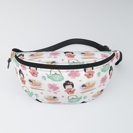 Japan pattern Fanny Pack