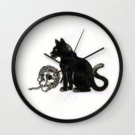 Ball of String Wall Clock