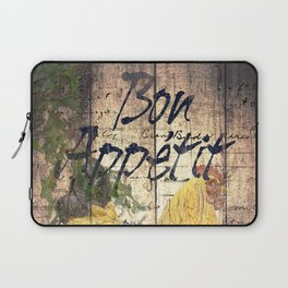Rustic Chicken Cheese Bread Cafe Bistro Art Still Life A301 Laptop Sleeve
