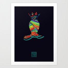 LGBT Art Print