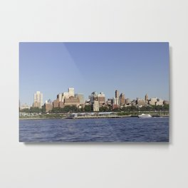Brooklyn by Boat Metal Print