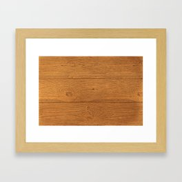 The Cabin Vintage Wood Grain Design Framed Art Print