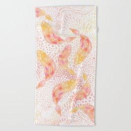 Kelp Dance Beach Towel