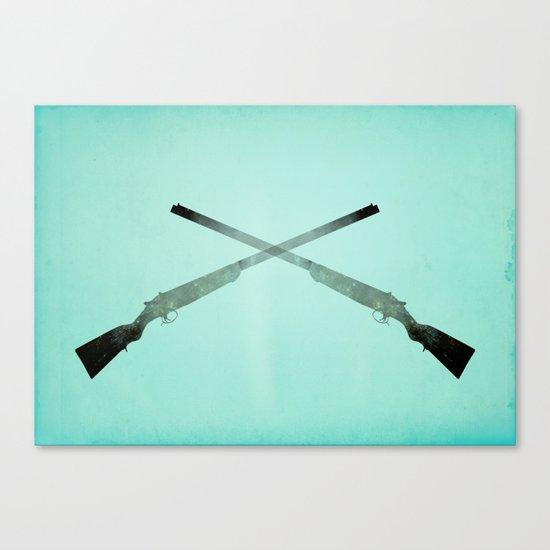 Shotgun Canvas Print