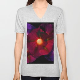 Morning Glory V Unisex V-Neck