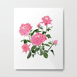 Rose || Metal Print