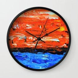 Color Combo #3 Wall Clock
