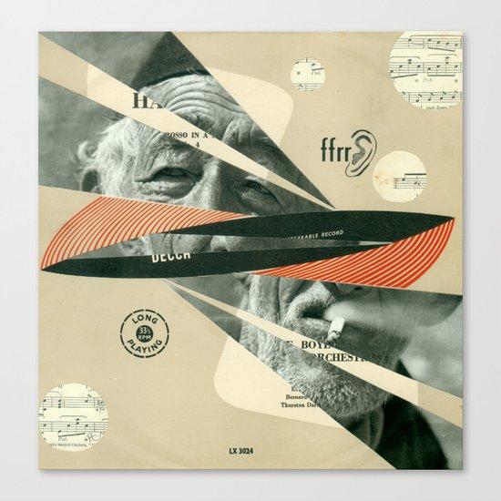 Smoke Symphony Canvas Print