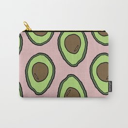 Summer Avocado Pattern Carry-All Pouch