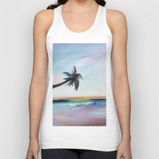 Be Back At Sunset Unisex Tank Top