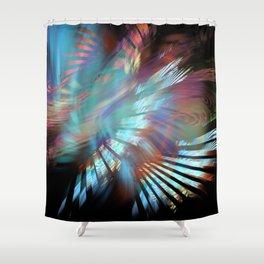 Woosh Shower Curtain