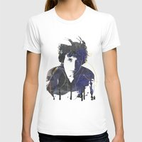 bob dylan T-shirts featuring bob dylan by manish mansinh