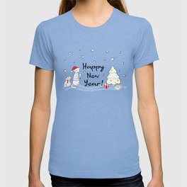 Happy New Year 2019! Oink! Oink! T-shirt