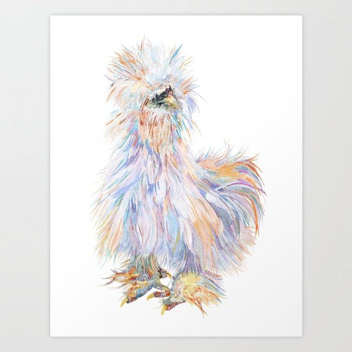 Silkie Chicken - Toto Kunstdrucke