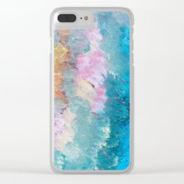 Delirium by the garden of the sea Clear iPhone Case