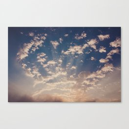 cape town skies Canvas Print