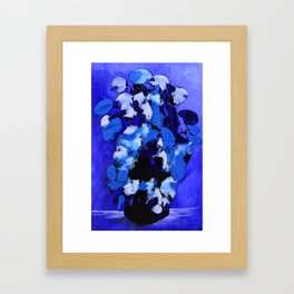 Abstract 99 - Blue Rhapsody Framed Art Print