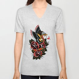 Eagle serpent Unisex V-Neck