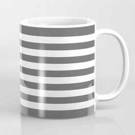 American flag in Gray scale Coffee Mug